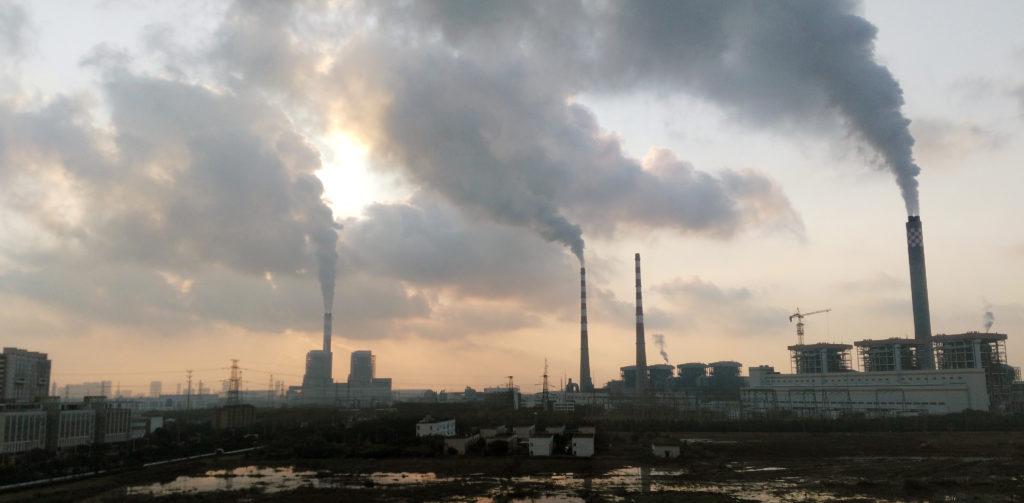 China's falling emissions raise climate hopes