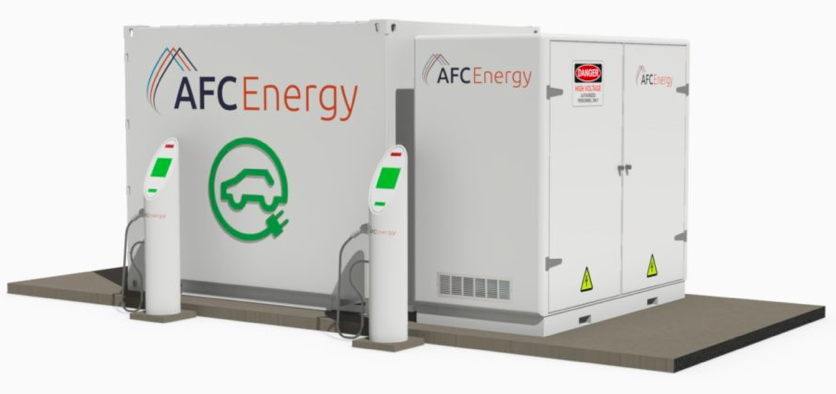 A an caption for \AFC piece AFC portable EV charger: picture: www.afcenergy.com